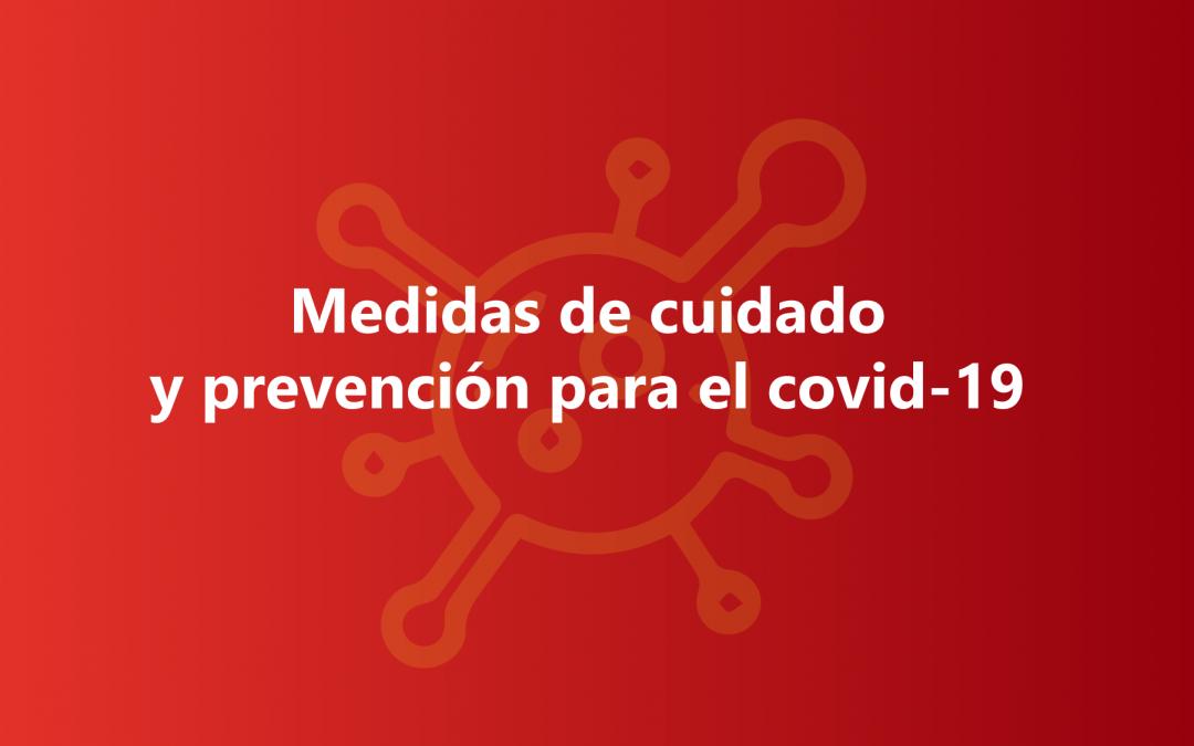 Medidas De Cuidado Y Prevención Para El Covid-19