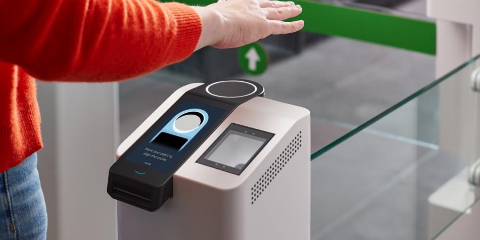 Presentan sistema para pagar con la palma de la mano